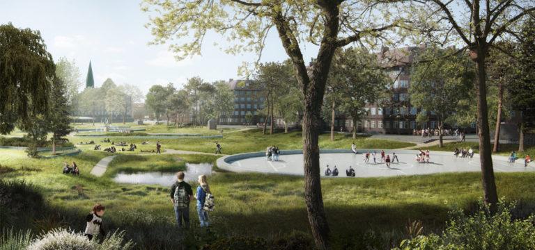Parc-Hans-Tavsens-Korsgade-SLA--Copenhague